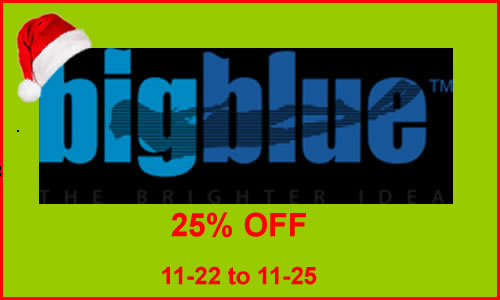 20% Off Big Blue Lights