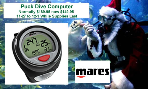 Mares Puck Computer While Supplies Last