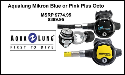 Free Micron Octo With Purchase of Regulator