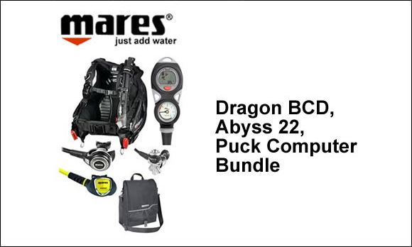 Mares Dragon BCD Package