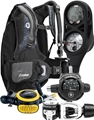 Aqualung Travel Zuma BCD, Reg, Zoop Comp, Octo Package