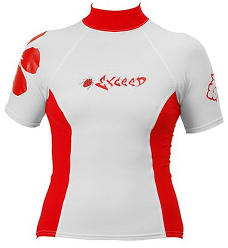Exceed Womens Eden Long Sleeve Rash Guard