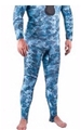 Mares Pure Instinct Mens Rash Guard Pants - Camo Blue