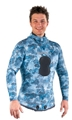 Mares Pure Instinct Neoprene Blue Camo 3.0mm Jacket and Pants Combo