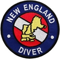 Trident New England Scuba Diver Patch