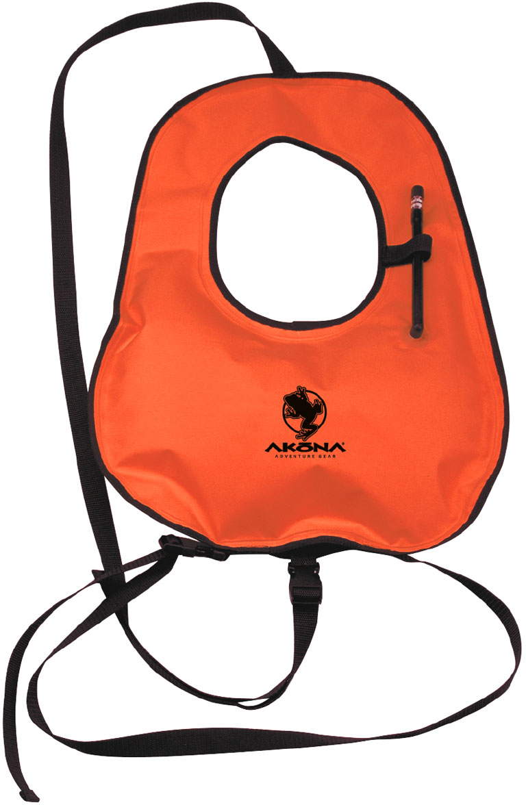 Akona Adult Snorkel Vest With Crotch/Waist Straps