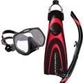 Atomic Frameless Mask Blade Fin and SV1 Snorkel Package