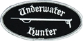 Innovative Emroidered Underwater Hunter Patch