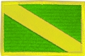 Innovative Embroidered Small Nitrox Dive Flag Patch