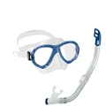 Cressi Sub Perla Jr. Mask and Top Snorkel Small Size Combo Set
