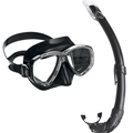 Cressi Perla Mask and Mexico Snorkel Combo