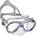 Cressi Eyes Evolution Crystal Clear Silicone Scuba Diving Mask