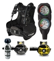 Cressi Start BCD Reg Gauge Dive Package
