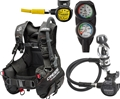 Cressi Start Pro BCD Compact Reg Gauge Dive Package