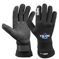 Tilos 3mm Titanium Forte Velcro Gloves