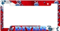 Innovative Dive Flag with Bubbles Metal License Plate Frame