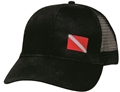 Innovative Dive Flag Mesh Back Hat