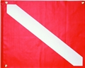 Innovative Large PVC Dive Flag with Stiffener