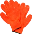 Innovative Orange Vinyl Coated Lobster Gloves