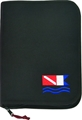 Innovative Dive Flag 6-Ring Black Binder