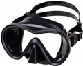 IST Skylops Single Lens Aluminum Mask - Black Silicone/Black