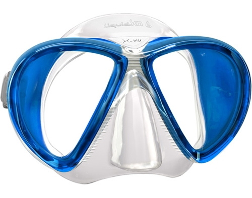 Mares X-VU Liquidskin 2 Window Scuba Diving Mask