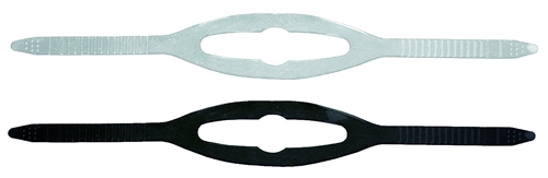 Mares Clear Silicone or Black Silicone Mask Strap (Each)