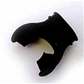 Oceanic Black Ortho Mouthpiece