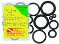 Innovative Save-A-Dive 10 Piece Viton Rubber O-Ring Kit