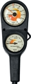 ScubaPro Metric Depth And Pressure Gauge Console