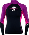 ScubaPro Women's UPF 80 T-Flex Long Sleeve Rash Guard