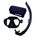 Scuba Max Aria Mask and Stalker Snorkel Set