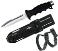 Scuba Max KN-601 420 HD Stainless Steel Full Size Dive Knife
