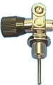 Trident Standard Chromed Brass USAIR K-valve