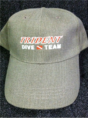 Trident Dive Team Scuba Diving Baseball Cap - CLOSEOUT