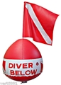 Trident Inflatable Surface Float With Dive Flag