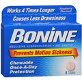 Bonine Motion Sickness Relief Chewable Tablets