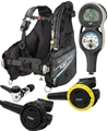 TUSA Soverin Analog Scuba Diving Package