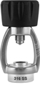 XS Scuba Deluxe Stainless Steel Spin-On Yoke