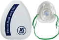XS Scuba Pocket Rescue Mask With O2 Port