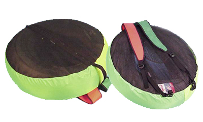 Trident Special Abalone Float Cover Pack And Shoulder Straps.