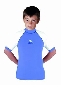 IST Childrens Rash Guard Short Sleeve-CLOSEOUT