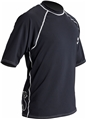 ScubaPro Loose Fit Short Sleeve Rash Guard Unisex - Black