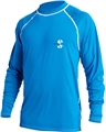 ScubaPro Loose Fit  Long Sleeve Rash Guard Unisex - Blue