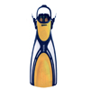 Floor Demo Model Mares Wave Open Heel Tri Material Dive Fins