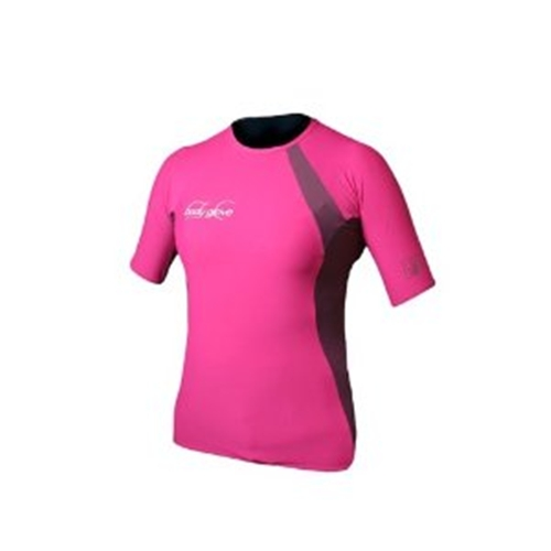 Body Glove Women's Performance Short Arm Rashguard - (Large) CLOSEOUT