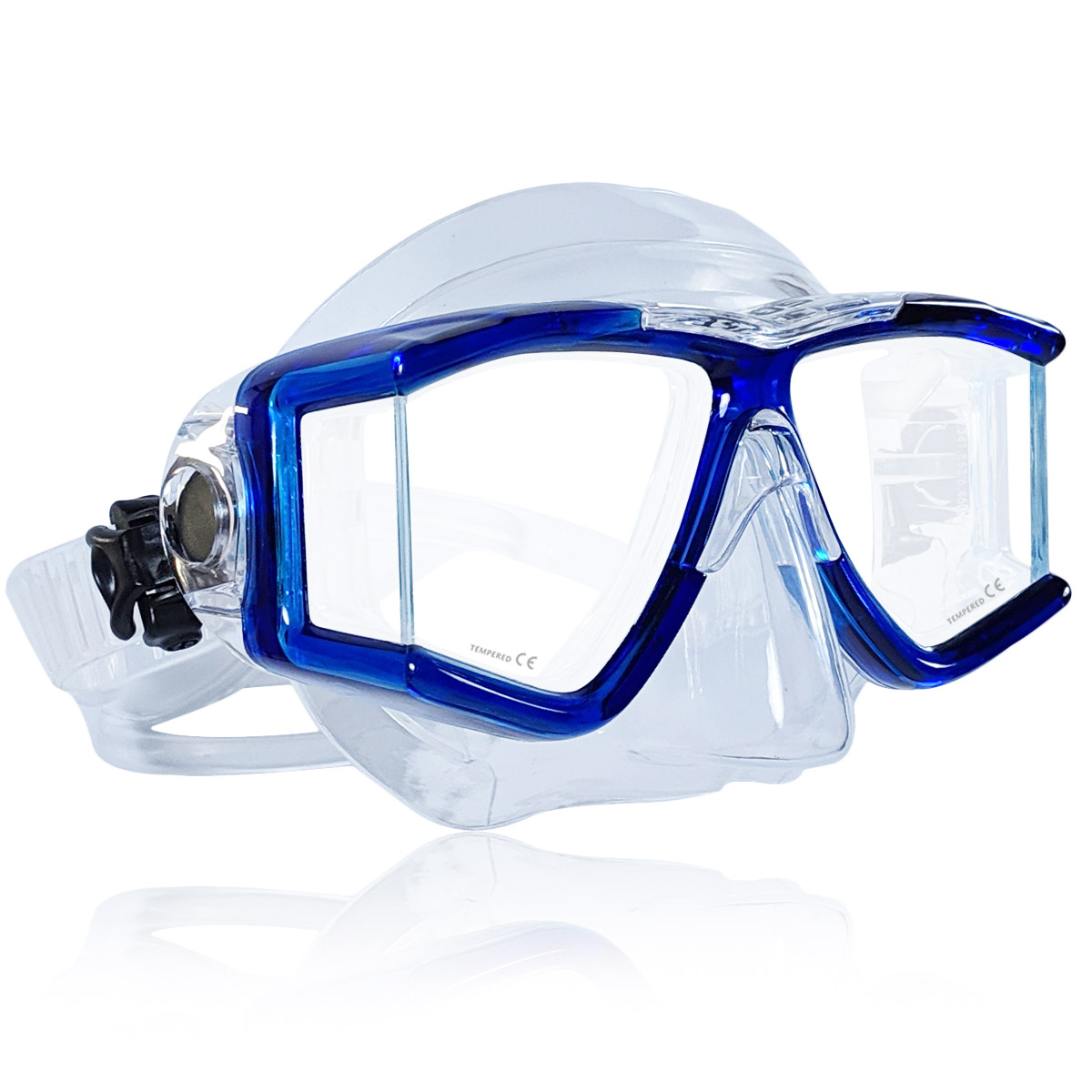 Tilos Panoramic Double Lens Jr. Snorkeling Mask