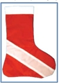 Trident Dive Flag Christmas Stocking