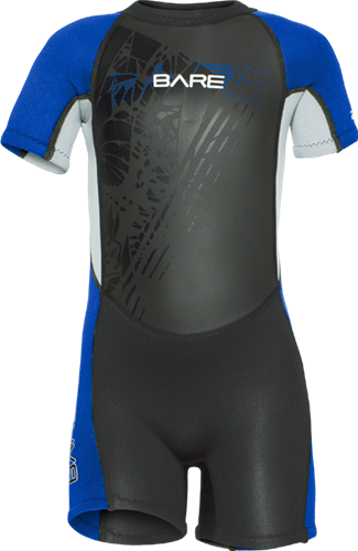 Bare Kids 2mm Neoprene Tadpole Shorty Wetsuit