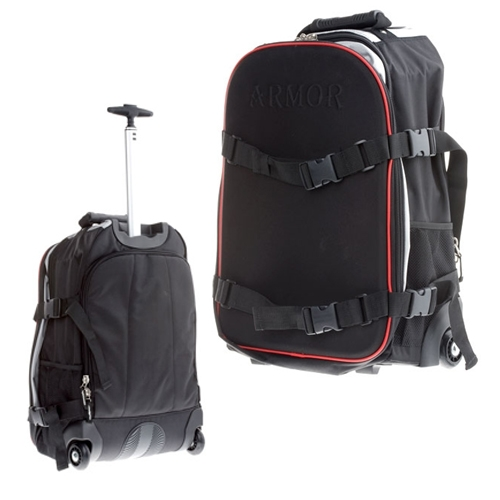 Armor Rolling Carry-on Backpack #130